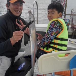 6月初めのタチ釣り出港