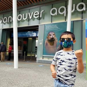 オリジナルマスクで水族館へ