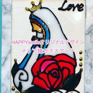 【マリア様ガラスアート】新デザイン、お誕生日プレゼント