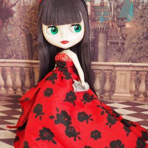 ドゥルーシラに赤いドレス★レジーナも♪