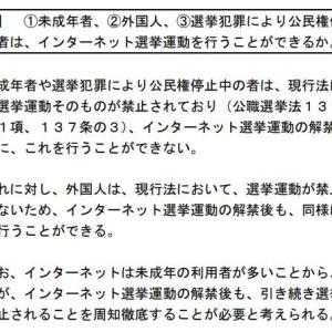 渡邉哲也 @daitojimari 「外国人の政治活動は認められていない」←総務省がはっきりと否定