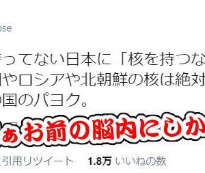 ネトウヨによる妄想反論:「立憲も共産も朝日も毎日も北朝鮮の核を非難していない」←大嘘