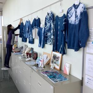 NHK学園 草木染め講座 2021年6月 藍染