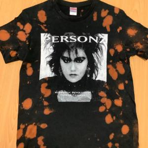 Tシャツリメイクをしてみました 抜染技法