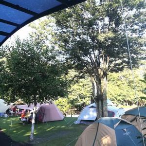 燻製キャンプ at 山梨鳴沢村2