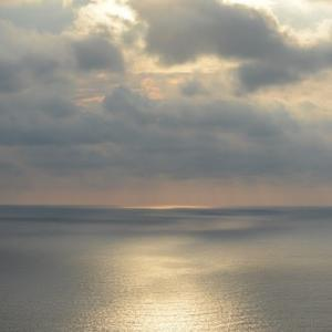 夕暮れ日本海(1)
