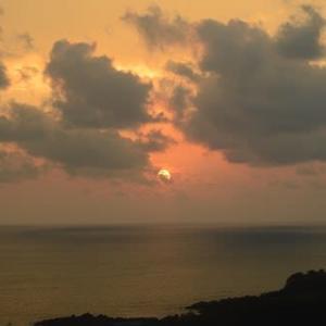 夕暮れ日本海(2)