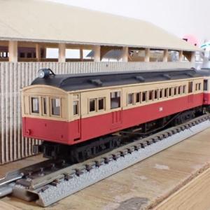 IORI工房の木造電車