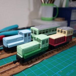 富別簡易軌道の機関車(レビュー)