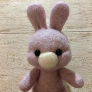 可愛いウサギさんが出来ました♪