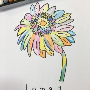花のイラスト  ラベーガ
