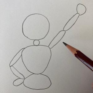 人のイラストレッスンその3(全5回) 腕と手