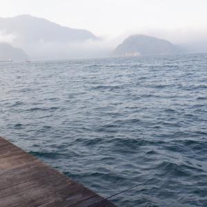 10月31日 音海方面 筏の上