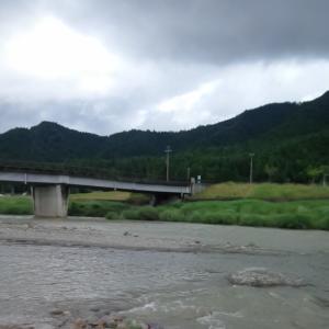6月28日 上桂川 鮎釣り11