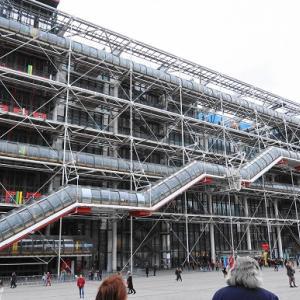 パリ美術館巡り③ ポンピドゥー・センター