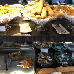 ル・メリディアン・エトワール 二日目の朝食、チェックアウト。