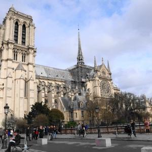 パリ散歩⑤サン・シュルピス教会(火災前)