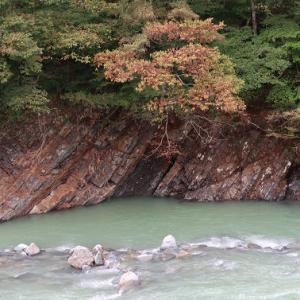 両親と松之山温泉へ①清津峡渓谷トンネル