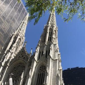 ニューヨークの教会巡り①セント・パトリック大聖堂