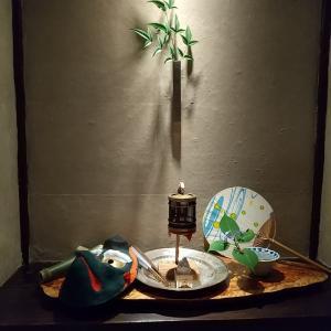 京都の和食 上賀茂秋山で若鮎