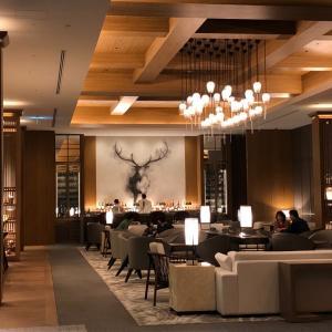 JWマリオット奈良宿泊記⑤バーとレストランで夜食、ターンダウン