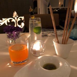 セントレジス大阪『ラ・ベデュータ』でディナー