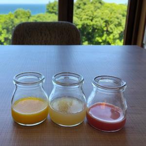 南紀白浜⑦マリオットの朝食 お味噌汁にびっくり!!二日分まとめて。