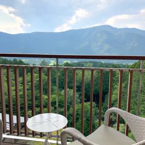 箱根④ひらまつ仙石原 富士山の見える「片岡球子ルーム」