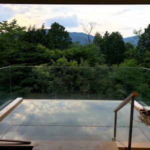 箱根⑦ひらまつ仙石原 素晴らしい貸し切り露天❤