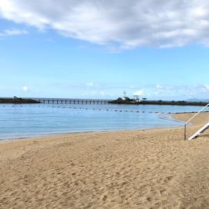 沖縄⑯シェラトン沖縄 サウスタワーのラウンジと孤独のビーチ