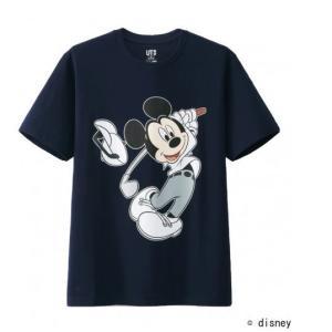 ミッキーマウスとアダム・スコットのコラボTシャツ