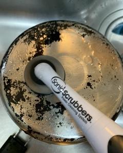 鍋のこげ落とし