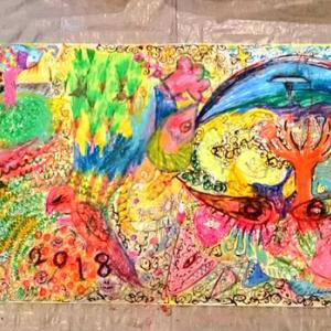 【受付中】マルカフェ美術部/第四十三回開催案内「大きな画をつくろう」【12月8日】