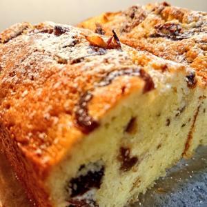 冬の、フルーツパウンドケーキ
