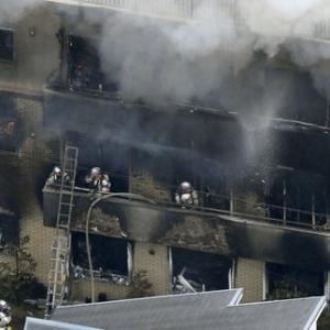 【韓国の反応】「死ね」ガソリンぶっかけ…京アニ放火で33人が死亡の大惨事