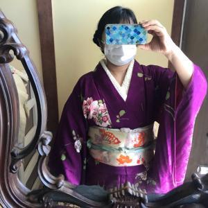 霜月コーデ 其の三 恋しきモダン百貨店コーデ