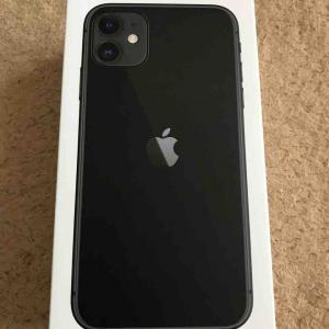 iPhone11 買ったよ