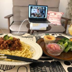 オンライン料理教室、ブロッコリーを食べよう。