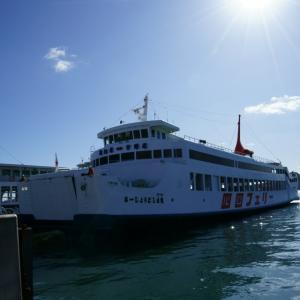 宇高航路(宇野港~高松港)が12/16に休止になります。