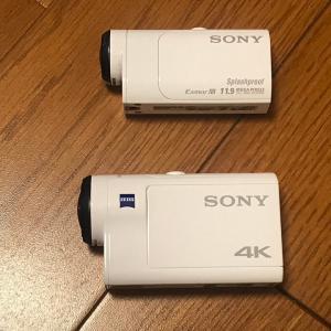 アクションカメラを4Kにしました。