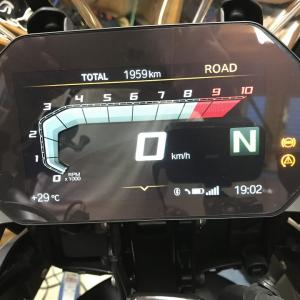 F750GSの燃費