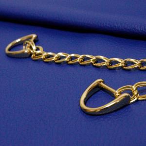 イタリアの本革 気品あるロイヤルブルー 凛とした大人の女性の為の鞄