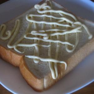 マヨラーのエッグトースト