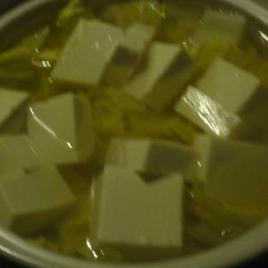 白菜最終章湯豆腐鍋