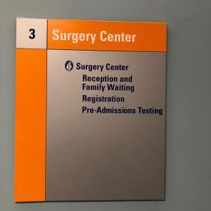ボストンチルドレンズホスピタルの手術室へ