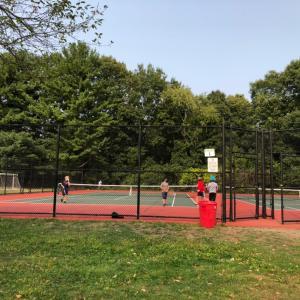 子ども達にもテニスでソーシャルを