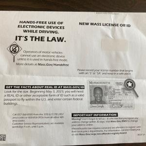 無事にアメリカの免許が届きました