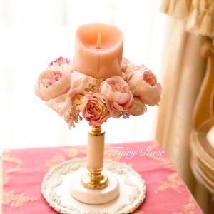 フェミニンなキャンドルリース2種♡