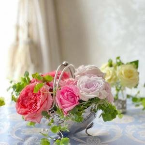 お庭のバラを♡うれしいギフト