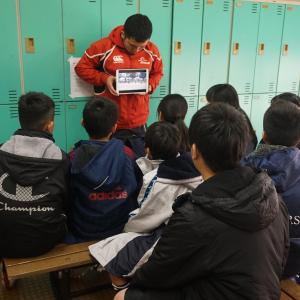 第16回全国小学生タグラグビー選手権大会 東海ブロック大会①(ウォーミングアップ、開会式)